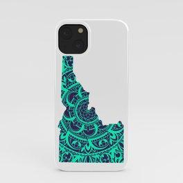 Idaho Mandala Green iPhone Case