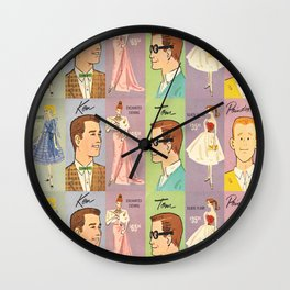 Vintage Queen of the Prom Wall Clock