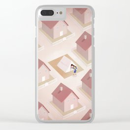 Welcome Stranger Clear iPhone Case