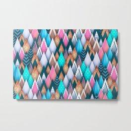 Sweet Colorful Arrowheads Metal Print