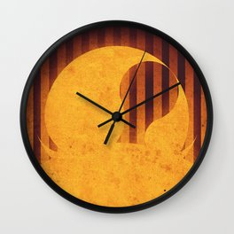 Sun - Solar Flare Wall Clock