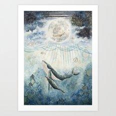 The Voyage Home Art Print