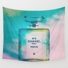 CHANELNo. 5 Sky Remix Wall Tapestry
