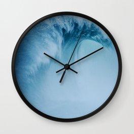 Wave In Fog Wall Clock