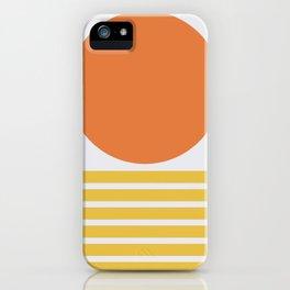 Geometric Form No.5 iPhone Case