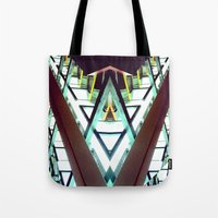 architect Tote Bags featuring Architect  by Rob Hayes