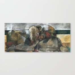 The Beach Series:  Nap On The Beach Canvas Print