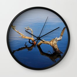 Lakes Edge Tranquility Wall Clock