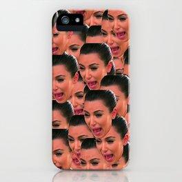 Kim Face iPhone Case