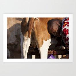 Morning Milk Art Print