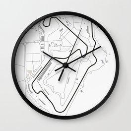 Silverstone Circuit Wall Clock