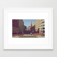 dc Framed Art Prints featuring DC by Douglas Smith