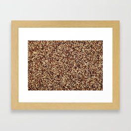 Mixed quinoa Framed Art Print