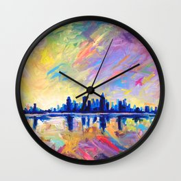 Brilliant Dawn Wall Clock