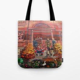 Art à Victoriaville - Très belle #fresque Tote Bag