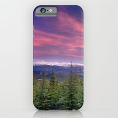Spring sunset at the mountains iPhone 6s Slim Case