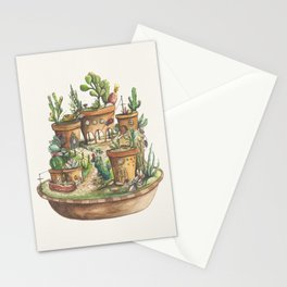 Succulent Village Stationery Cards