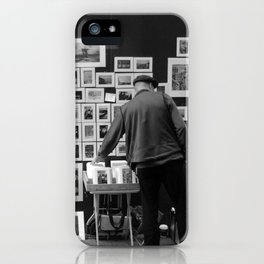 The seeker of photos iPhone Case