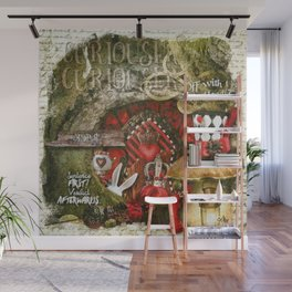 Queen of the Hearts Wall Mural