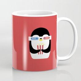 Penguin + Movie Time Coffee Mug