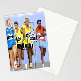 Corky in a Marathon Stationery Cards