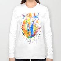 donnie darko Long Sleeve T-shirts featuring Donnie Darko - Nice Day by Ayemaiden