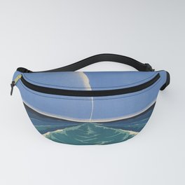 United States Lines Placard Fanny Pack