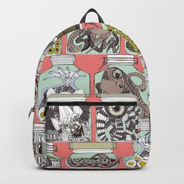 weird pickles coral Backpack