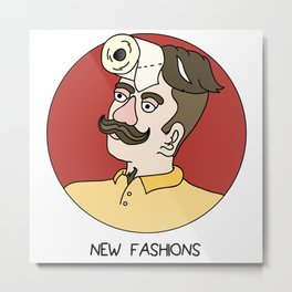 New Fashions Metal Print