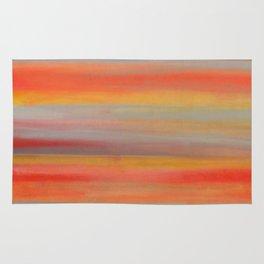 """Sunset #1. """"bumblebee"""" Rug"""
