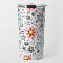 Millefiori Monotone Travel Mug