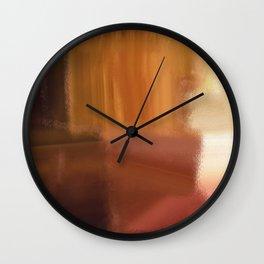 Autumn's Coming Wall Clock