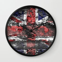Union Jack (United Kingdom Flag) Wall Clock