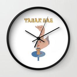 Shisha Hookah Tabak Bae Wasserpfeife Tabak Wall Clock