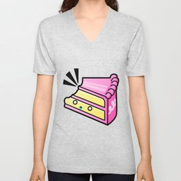 Cake in Distress Unisex V-Neck