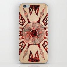 dashása redstone mandala iPhone & iPod Skin