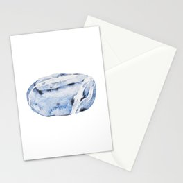 Smooth sea rock Stationery Cards