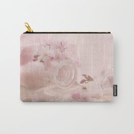 Almond blossoms in Vintage Style Carry-All Pouch