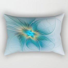 The little Beauty, Abstract Fractal Art Rectangular Pillow