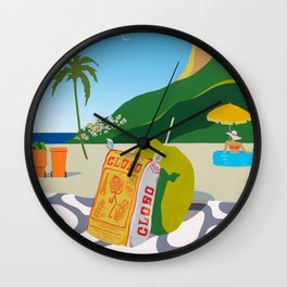 GLOBO COOKIES IN RIO Wall Clock