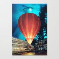 balloon Canvas Prints featuring Balloon by John Turck