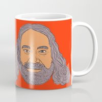 willy wonka Mugs featuring Willy Wilson™ by Space/Vampire