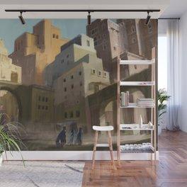 Fantasy Moroccan City Wall Mural