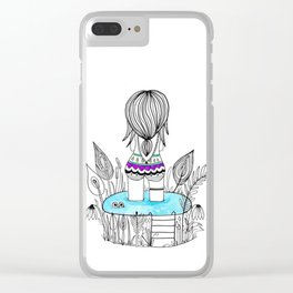 Sweet lil' Summer Clear iPhone Case