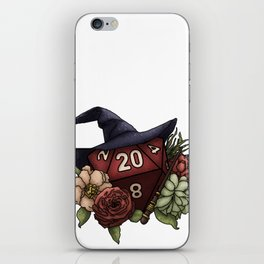 Wizard Class D20 - Tabletop Gaming Dice iPhone Skin