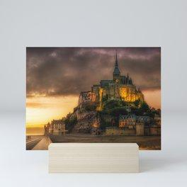 Le Mont Saint-Michel Mini Art Print