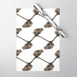 Curious young boobie Wrapping Paper