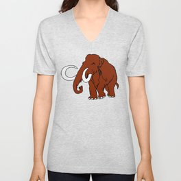 Woolly Mammoth Unisex V-Neck
