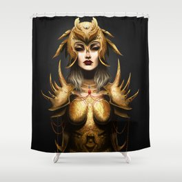 The last dragon slayer Shower Curtain