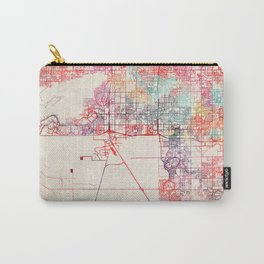 Chandler map Arizona painting Carry-All Pouch